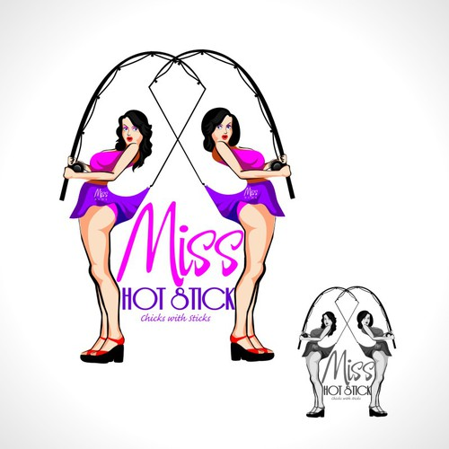 logo for Miss Hot Stick