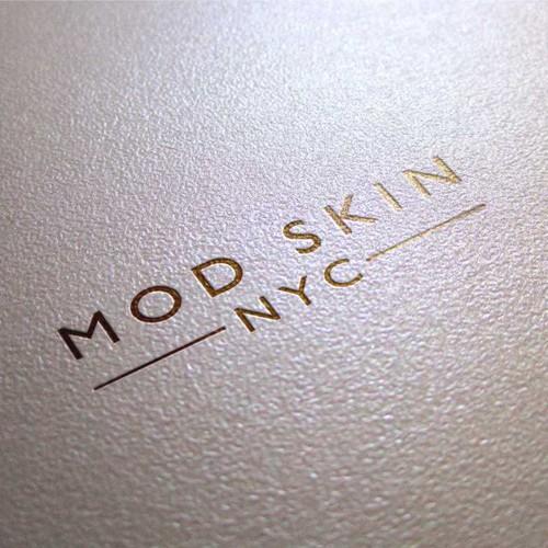 Modern Minimalist Concept Logo for Mod Skin