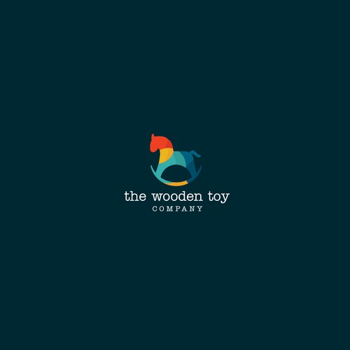 Simple yet effective logo for the toy company