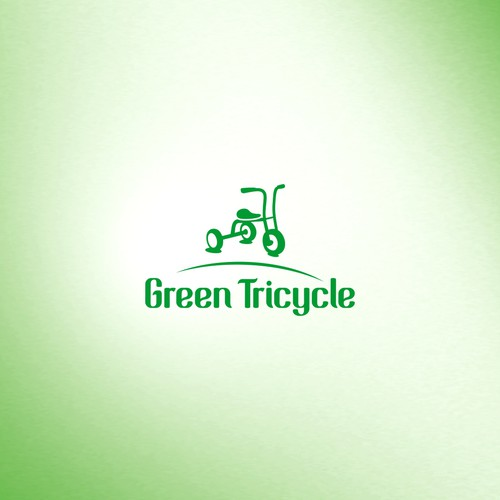 >green tricycle< logo contest