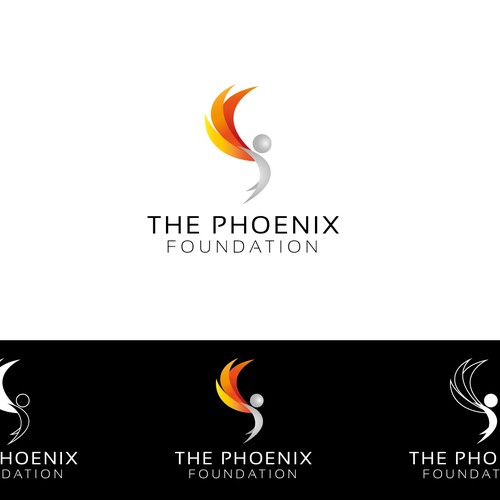 Logo for the Phoenix Foundation charity