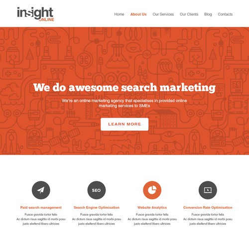 Insight Online Website Design