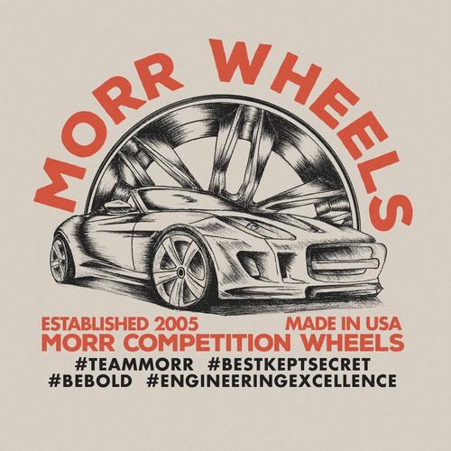 MORR Wheels needs a flagship T-shirt design for 2015!