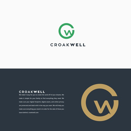 logo for funeral home