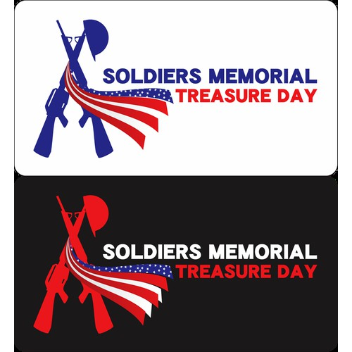 Help Soldiers Memorial Treasure Day with a logo