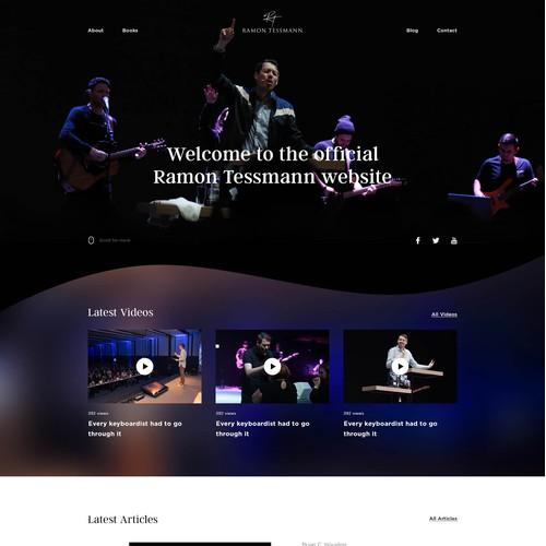 Personal Website & Blog
