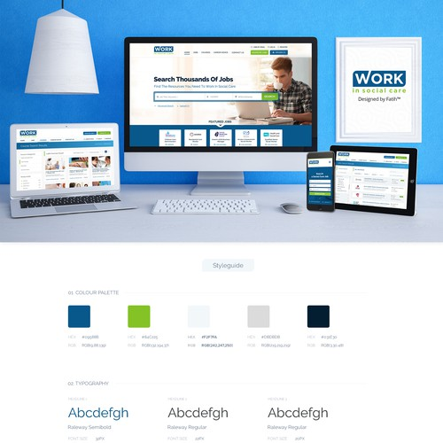 Career - Job Search Directory web design