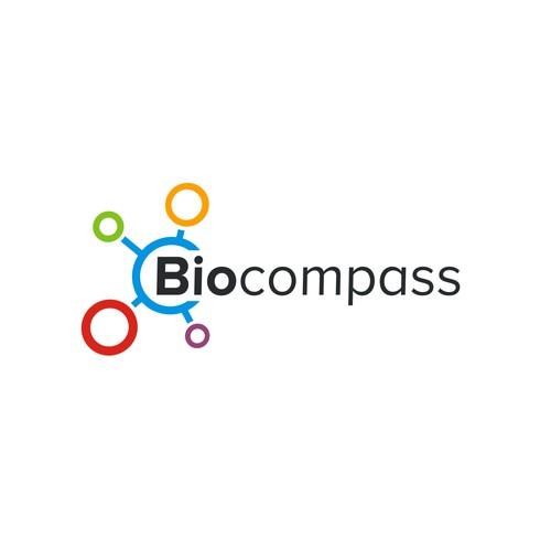 Biocompass logo design