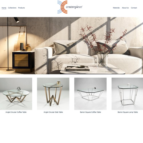 Website - Furniture Company