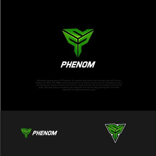 Esports logo symbol p letter