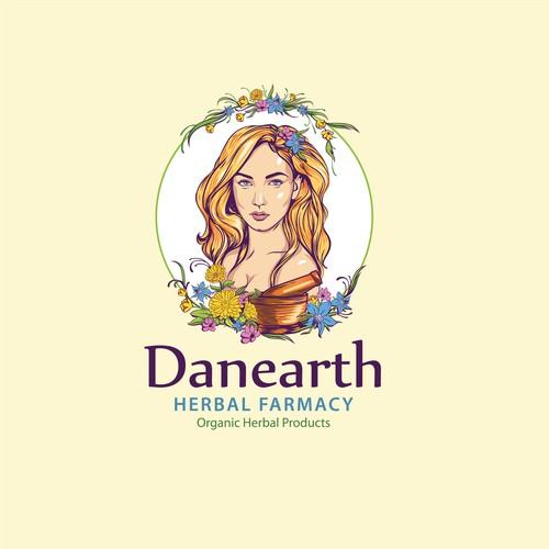 bold logo concept forDANEARTH