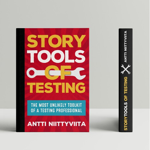 "Book cover for ""Storytools of Testing"" by Antti Niittyviita"