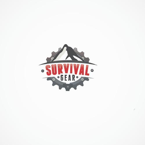 Create a captive logo for Survival Gear