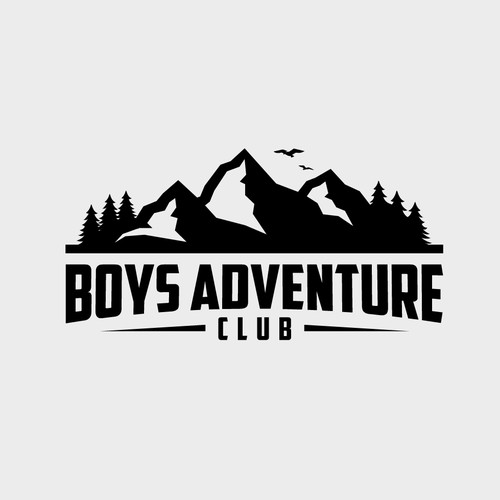 Bold logo concept for Boys Adventure Club