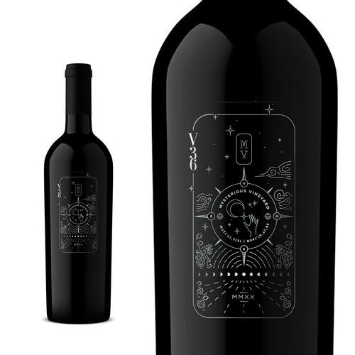 Premium wine label design