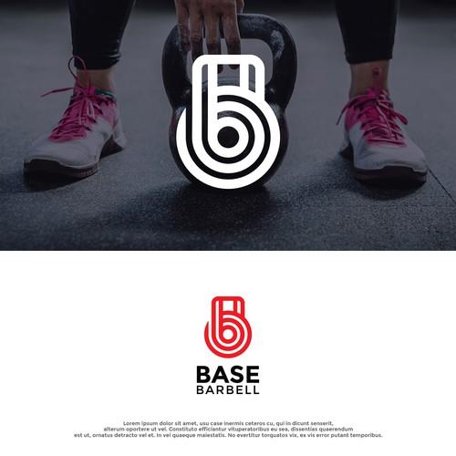 Logo Concept for BASE BARBELL