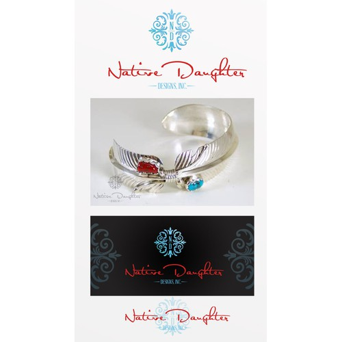 New logo and business card wanted for Native Daughter Designs, Inc.