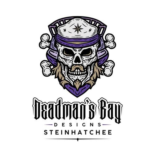 Deadman's Bay Skull logo concept