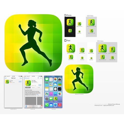 Running App Icon Set