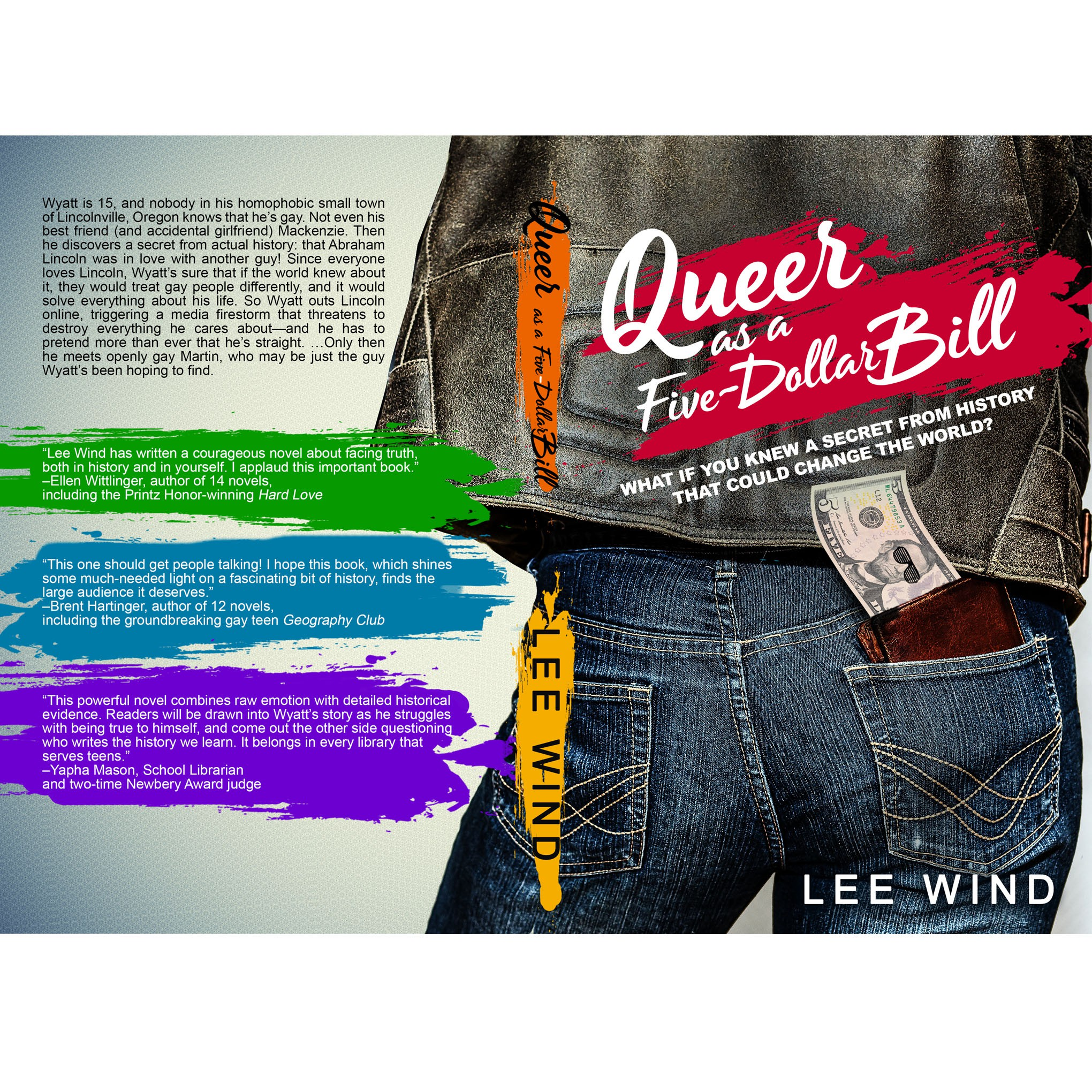Gay YA novel too controversial for traditional publishers needs cover design