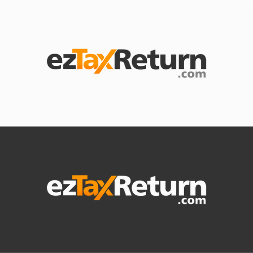 Create a new logo for an online tax filing website.