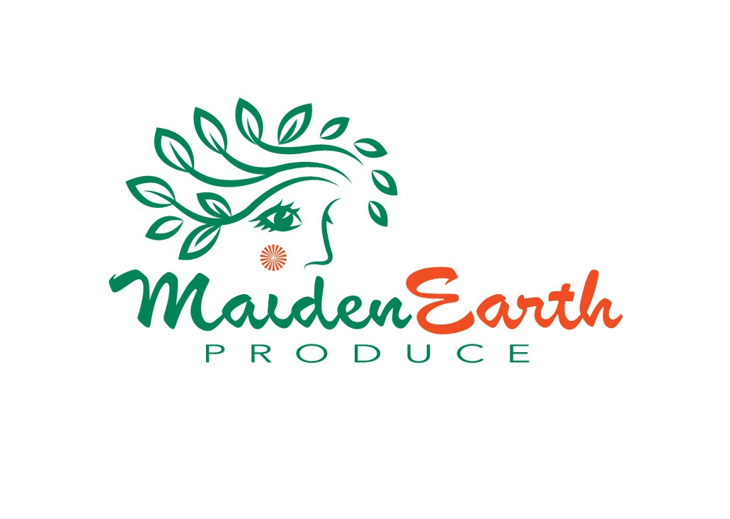 "Redesign the logo for a new produce distributor - depicting a youthful ""Mother Earth"""