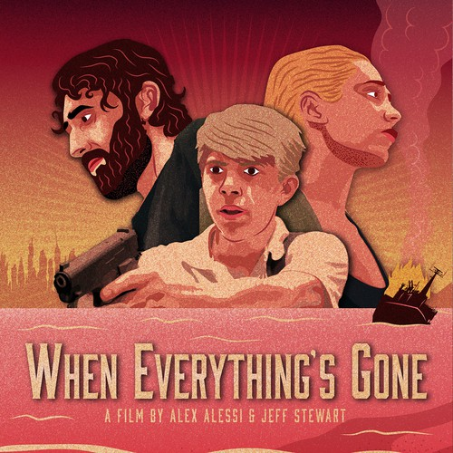 When Everything's Gone - Poster Design