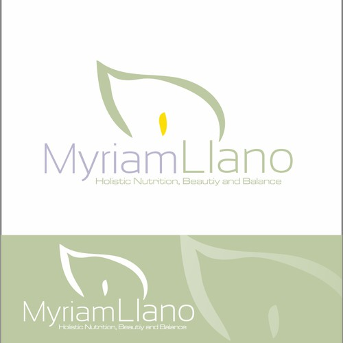 Create the next logo for Myriam Llano
