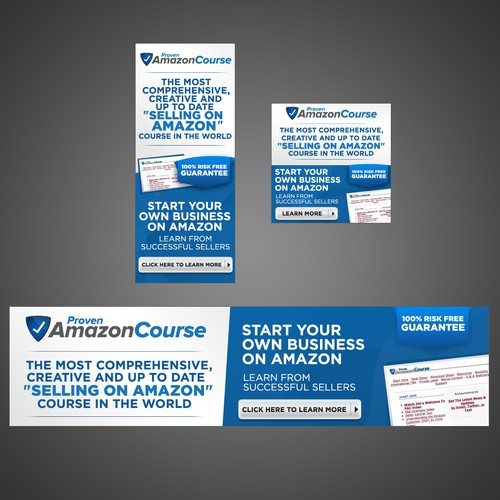Online Course Banner Set