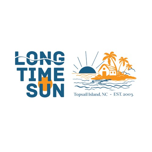 Logo design for Long Time Sun company.