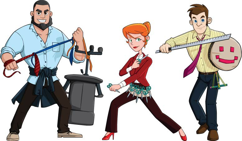 Break out of a cubicle! Create a team of Office Warriors!