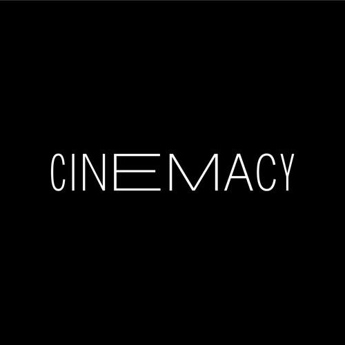 Modern logo for Film review website