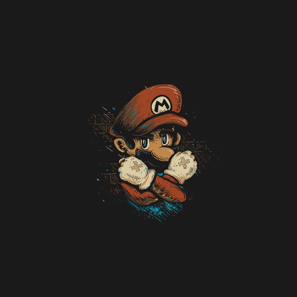 Super Mario X-Team shirt