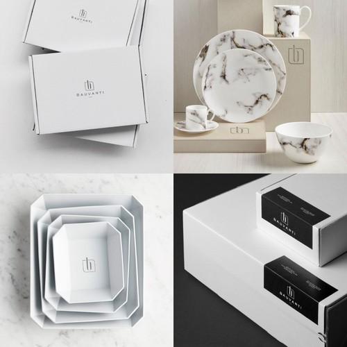 Simple yet Luxury Logo for Homeware/Kitchenware Brand