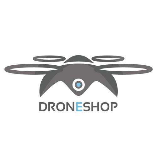 DRONESHOP logo