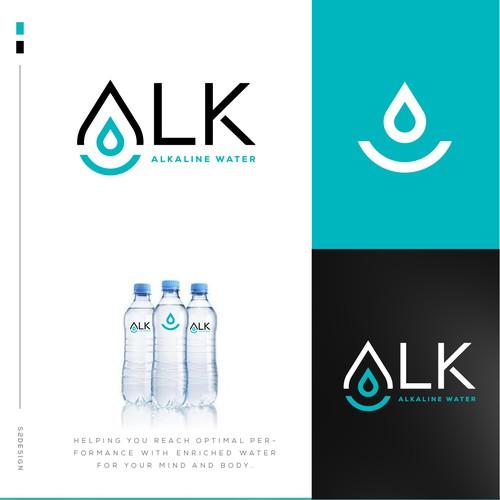 New Branding for Alkaline Bottled Water