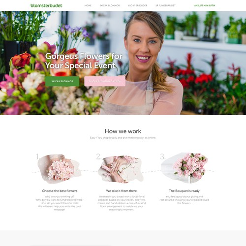 Blomsterbudet