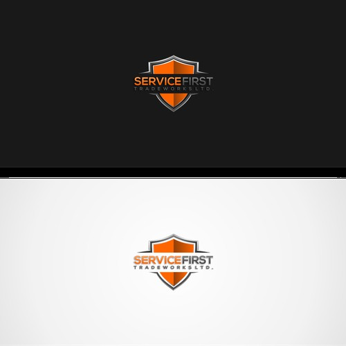 Logo designs for service first tradeworks ltd