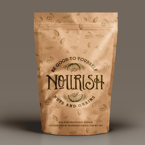 Winning design for the Nourish