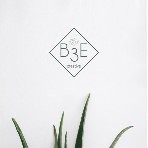 "Logo concept for ""B3E Creative"""