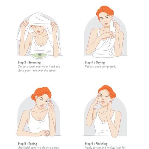 Illustration for Jalue Cosmetics