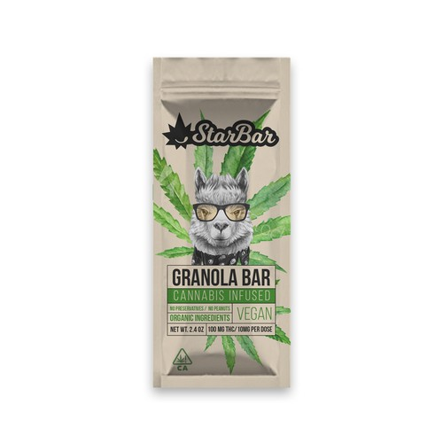 packaging design for granola bar