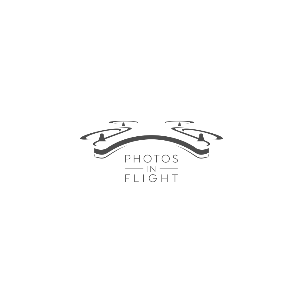 Logo for drone photography business