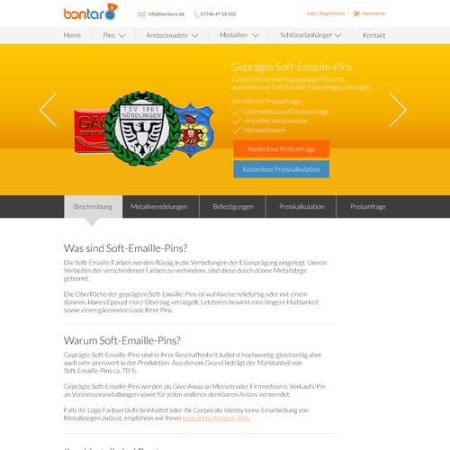 Neues Webdesign für Internetauftritt