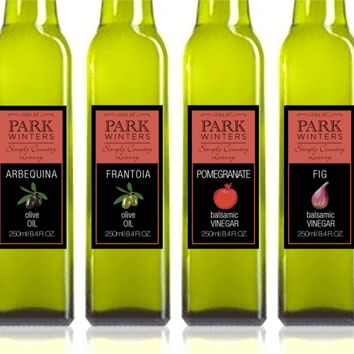 Help Inn at Park Winters with a new product label