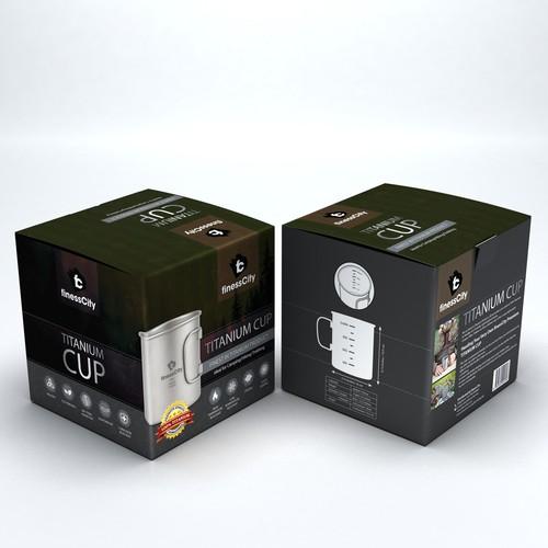 Titanium Cup for FinessCity