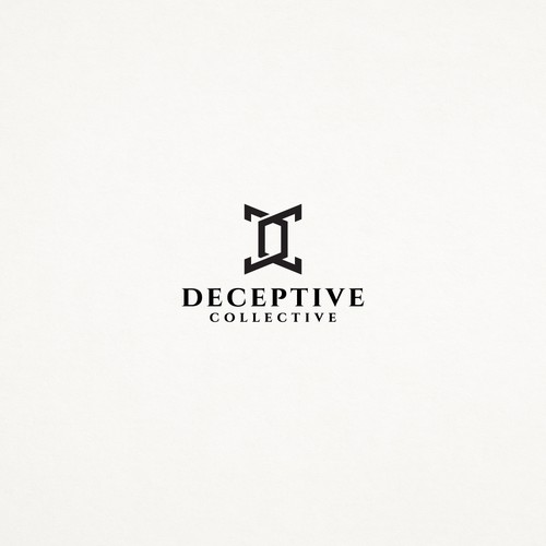 Logo concept for Deceptive Collective