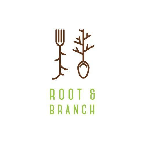 Fresh contemporary logo for health food brand