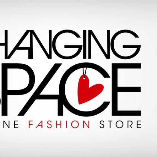 Edgy, sleek logo for online designer & vintage fashion store