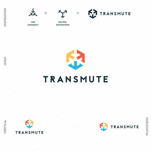 Logo for Transmute app.
